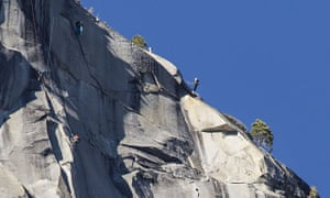 Tommy Caldwell and Kevin Jorgenson work through their final pitches in their attempt to free climb the Dawn Wall.