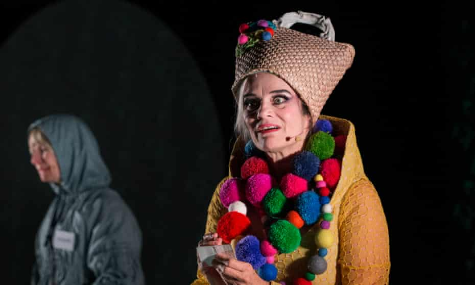 Eccentric … Shona Reppe and Christine Johnston in Baba Yaga.