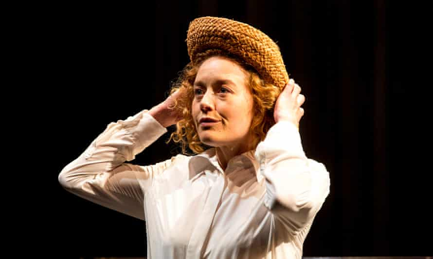 Nikki Shiels as Sybylla in Belvoir's new production of My Brilliant Career.