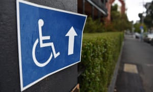 Disability sign