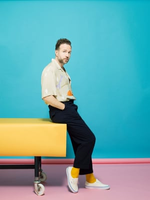 Actor Rafe Spall spoke to Eva Wiseman for an interview in the Observer Magazine.
