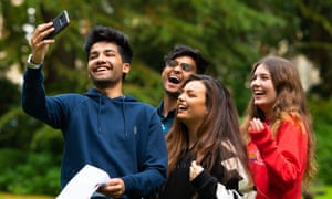 Students celebrate A-level results