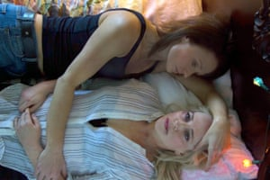 Rachael Blake (top) and Susie Porter maintain a cold-hearted realism as writer and muse in outback thriller The Second.