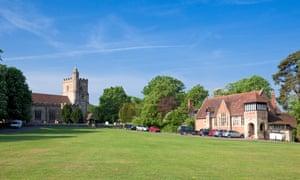 Archetypal … Benenden village green.