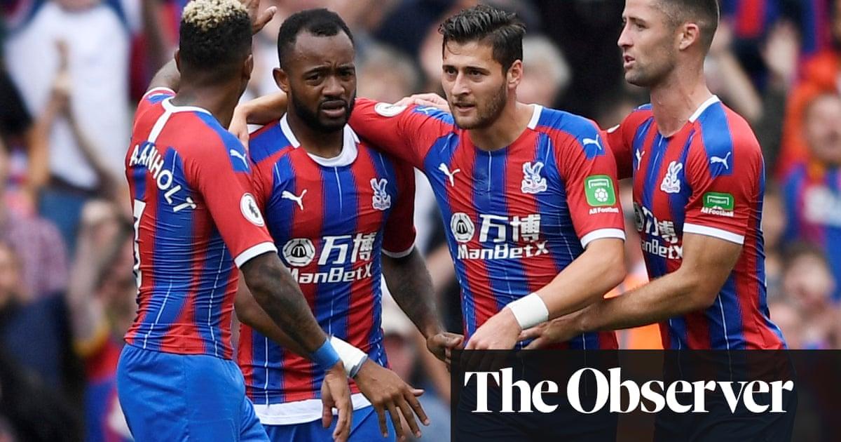 Crystal Palace's Jordan Ayew punishes Aston Villa after Trézéguet red card