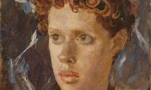 Detail from Augustus Johns's portrait of Dylan Thomas