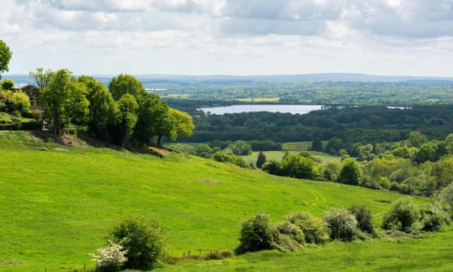 Ide hill, Sevenoaks, Kent.