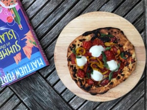 Sainsbury's magazine's version frying-pan pizza uses herby 00 flour.