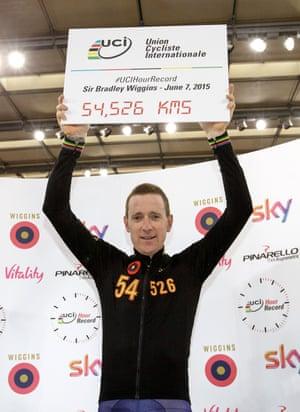 World Record Holder, olympic champion, Tour De France winner. Hero. Legend!