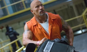 Are those arms or tyres? … Kidding. Dwayne 'The Rock' Johnson.