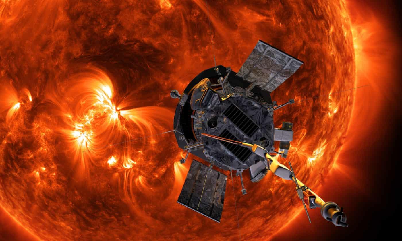 Nasa's Parker Solar Probe beams back first insights from sun's edge