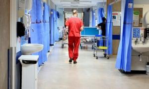 NHS hospital ward