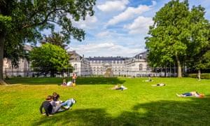 Parc d'Egmont, Brussels.