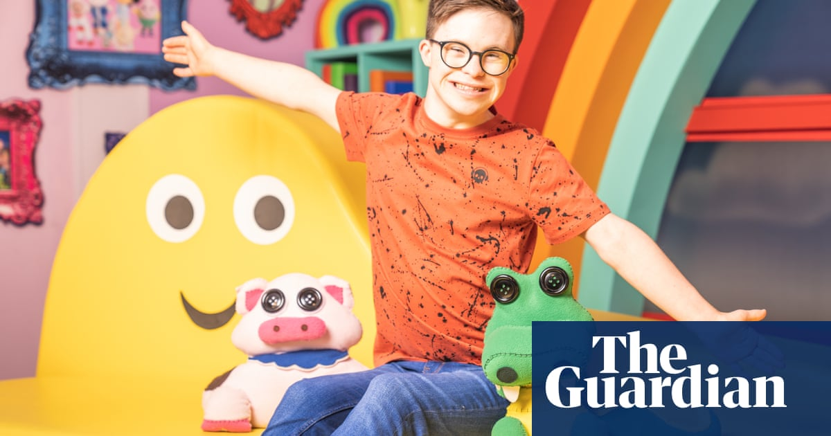 'A brilliant role model': CBeebies hires first presenter with Down's Syndrome