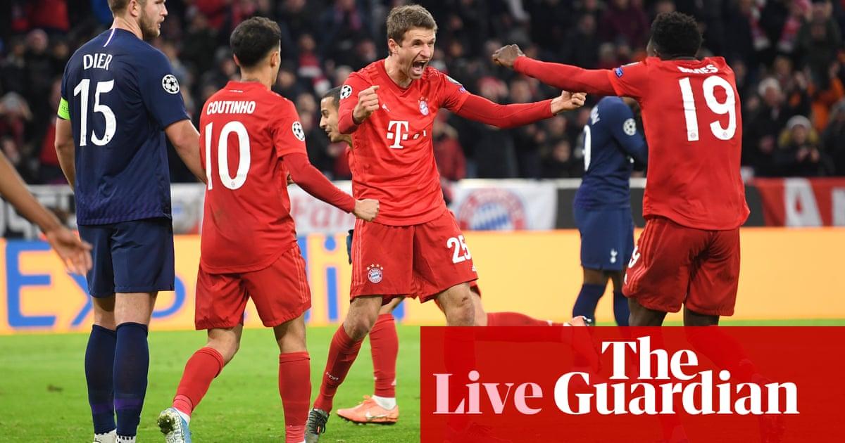 Bayern Munich v Tottenham Hotspur: Champions League – live! | Football
