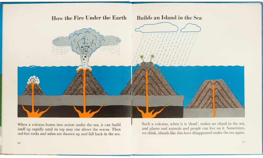 It's geological, stupid … from Marie Neurath's Spread of the Volcano.