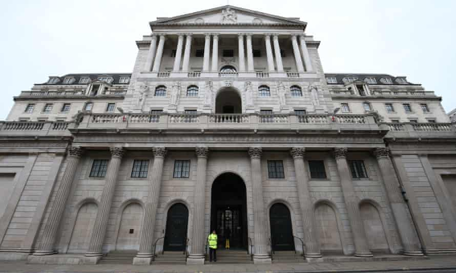 The Bank of England HQ in London