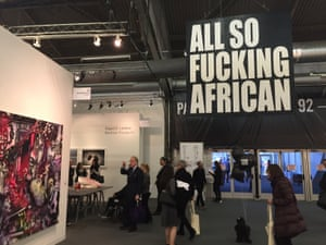 'A concerted turnout for African art': Ed Young at the Armory.