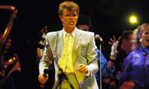Bowie in the 1980s.