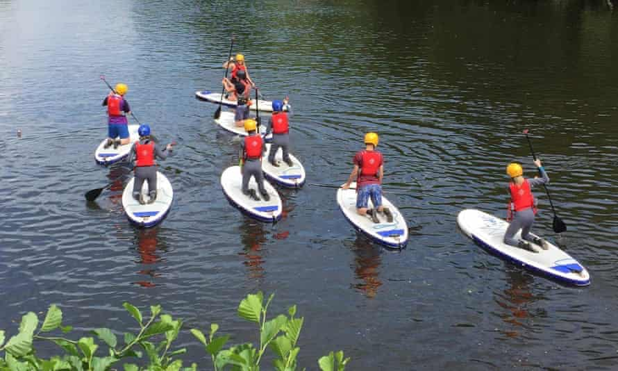 Take a board out on the River Wye.