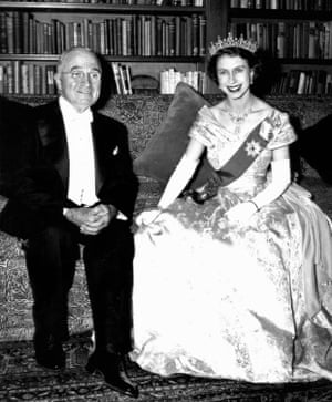 She was a princess at the time she met Harry Truman at the Canadian Embassy in Washington in 1951