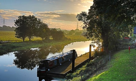 The River Nene near Peterborough