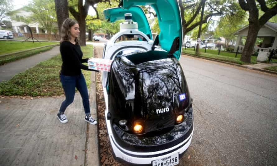 R2 is Nuro's custom, autonomous vehicle.