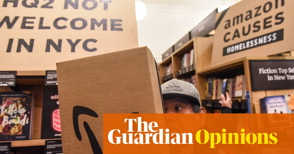 New Yorkers won't Give up the Fight to Stop Amazon Colonising Our City