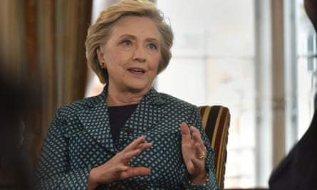 Hillary Clinton speaking on the Andrew Marr Show