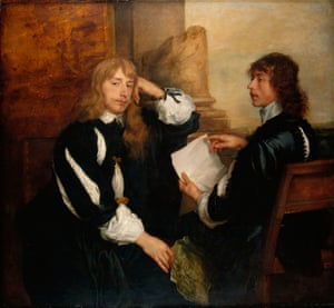 Anthony van Dyck's Thomas Killigrew and William, Lord Crofts (1638)