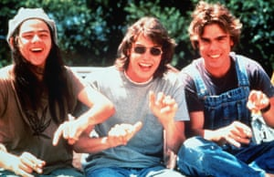 Rory Cochrane, Jason London and Sasha Jenson in Dazed and Confused.