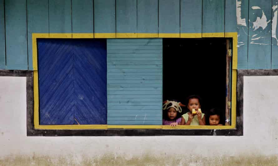 Indigenous reservation in Guaviare, Colombia