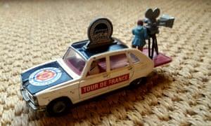 Tom Kevill Davies's vintage Corgi car