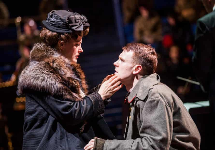 Máire Flavin and Rupert Charlesworth in Silent Night.
