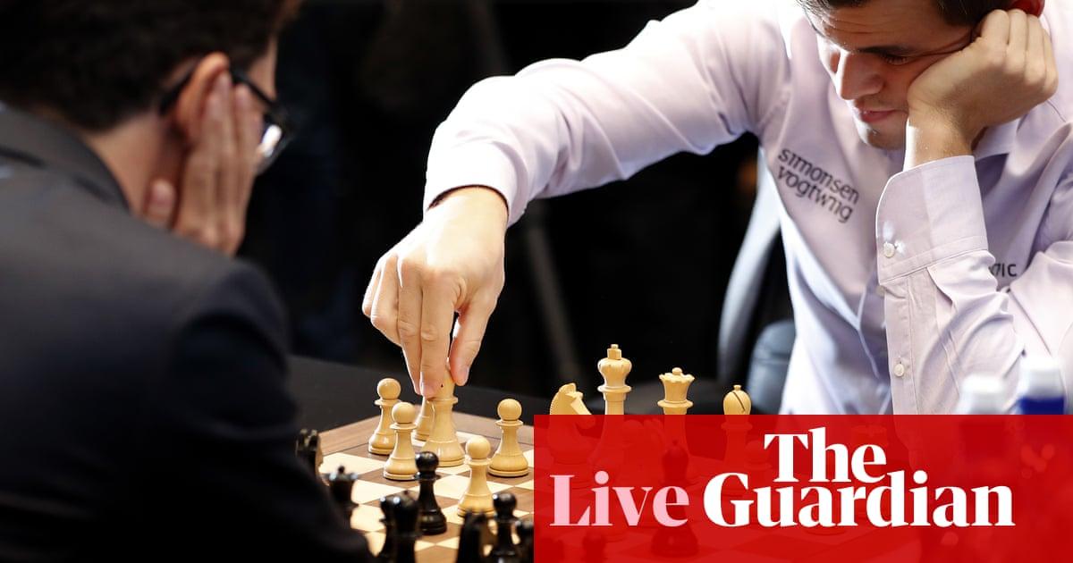 Magnus Carlsen v Fabiano Caruana: World Chess Championship tie-breakers – live!