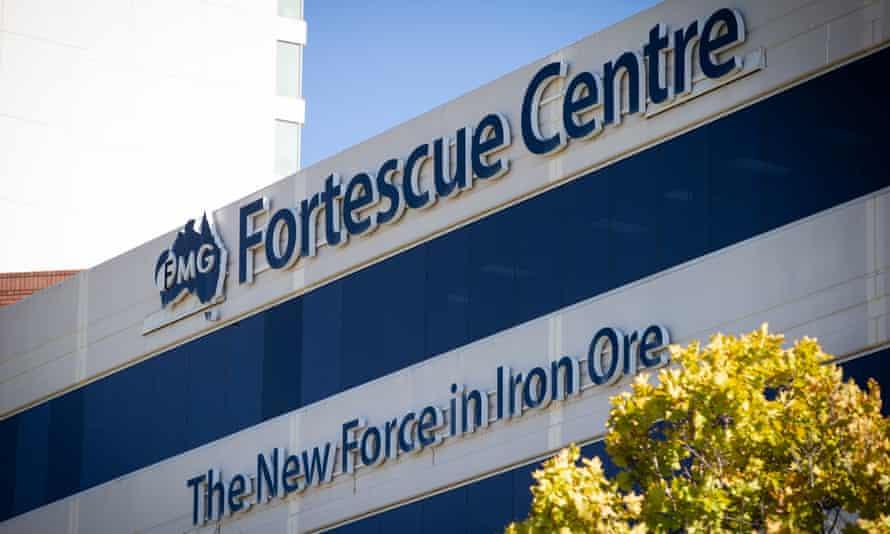 exterior of Fortescue Metals building