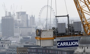 The new proposals are designed to reform government procurement after Carillion's failure