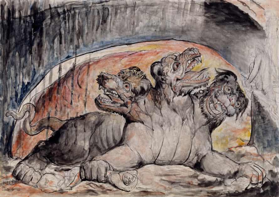 Cerberus, 1824-7.