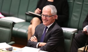 Malcolm Turnbull during question time on Wednesday.