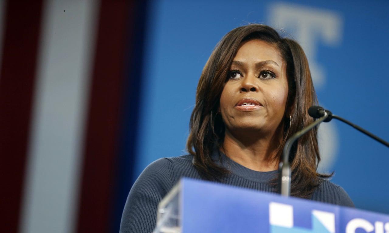 Full speech: Michelle Obama's powerful rebuke against Trump – video