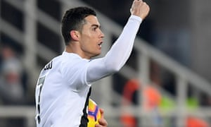 Cristiano Ronaldo Springs From Bench To Rescue 10 Man Juventus At