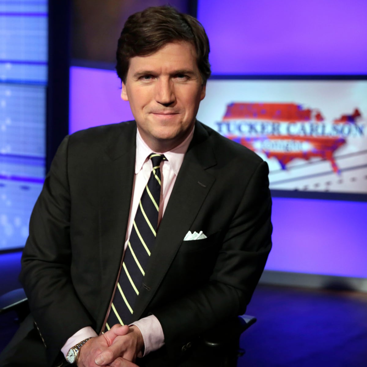 Fox News Tucker Carlson Is The New Premier Voice Of Bannonism Us News The Guardian