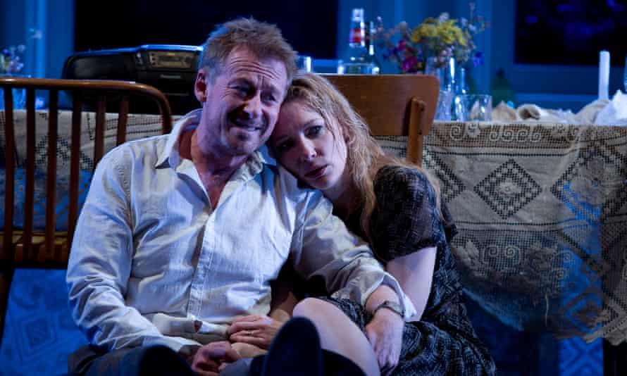 Richard Roxburgh and Cate Blanchett in The Present