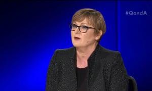 Liberal senator Linda Reynolds on Q&A on 18 March 2019
