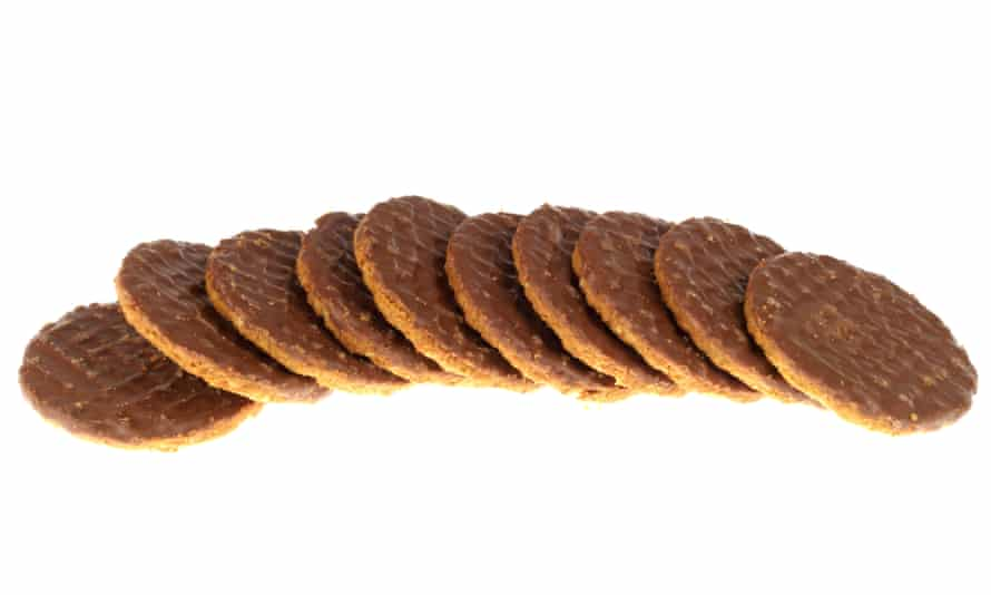 'You and I know if we have a chocolate hobnob, we will feel better afterwards.'