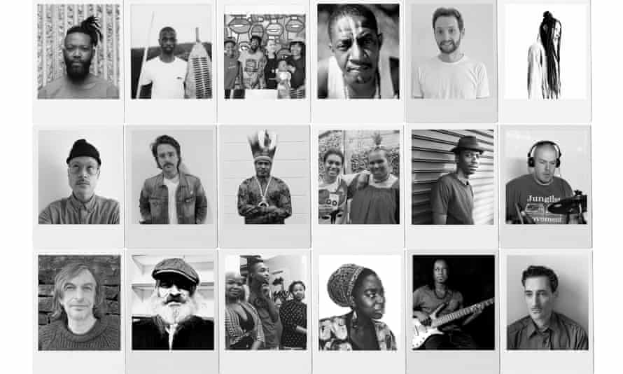 Multilingual ... Coldcut x Keleketla! some of those involved in the global music collective.