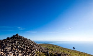 Sea, air and sky ... Slieve Donard, Mourne Mountains, Northern Ireland.