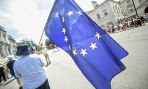 Pro-European campaigners march to 10 Downing St