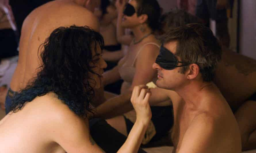 Louis Theroux attends a 'borderline-orgy' in Love Without Limits.