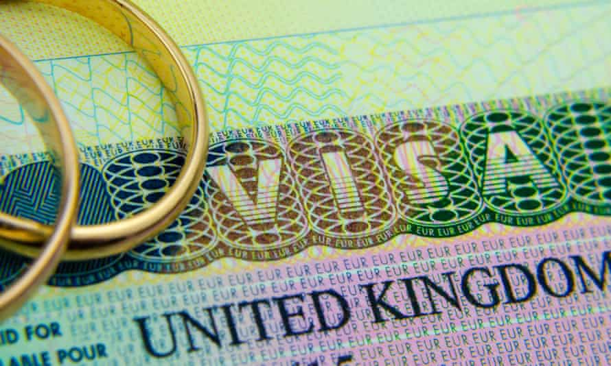 Applying for an extension to a spouse's visa has proved impossible during lockdown.